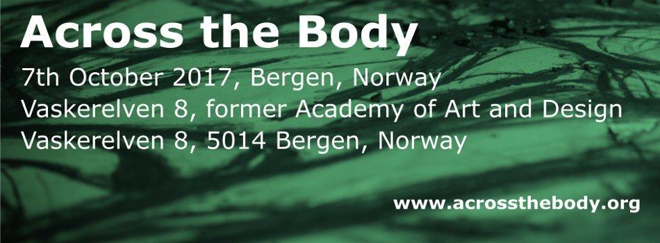 7th October 2017, Bergen, Norway, Across the Body